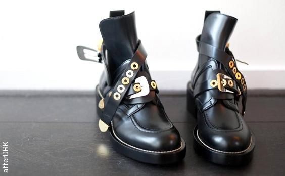 Buckles boots Balenciaga
