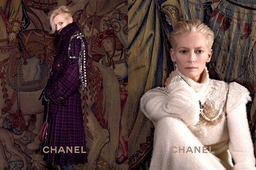 Tilda Swinton - Chanel