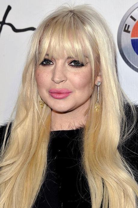 Coiffure Lindsay Lohan : Le blond vnitien mch de