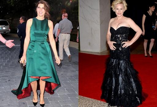 Marisa Tomei & Patricia Arquette