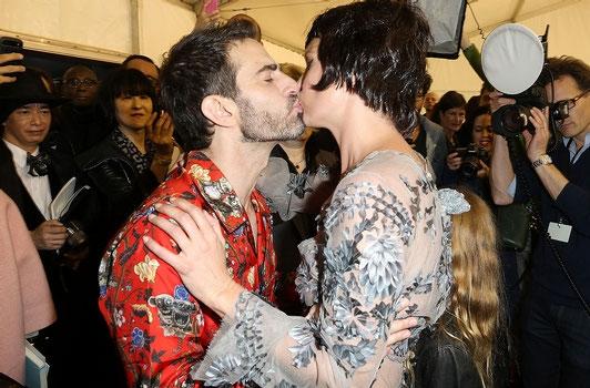 Marc Jacobs et Kate Moss