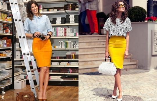 La jupe crayon comment la porter tendances de mode - Quoi mettre dans une pinata ...