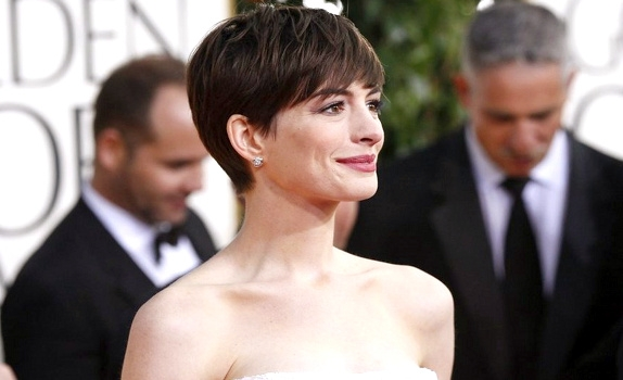 Anne Hathaway en Chanel