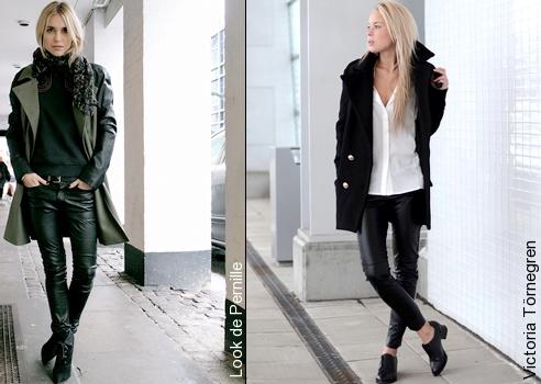 Slim en cuir comment le porter tendances de mode for Que porter avec du gris