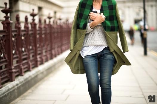 Manteau bi-mati�res