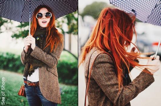 Veste blazer femme marron