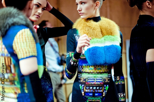 Backstage Peter Pilotto