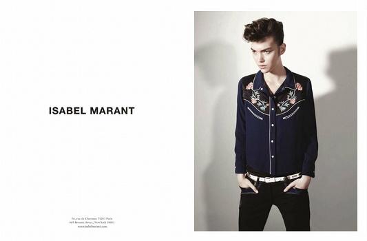 Campagne Isabel Marant 2013