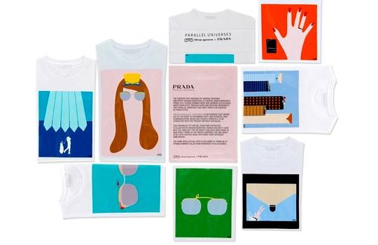 Tee-shirts Prada