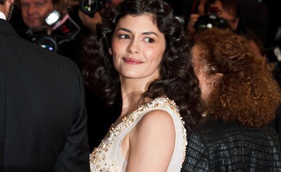 Audrey Tautou en Prada