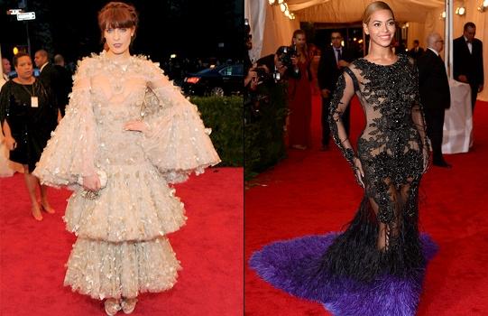 Florence Welch & Beyonce - Met 2012
