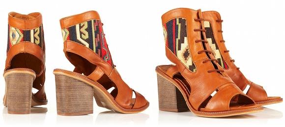Boots ethno urbaines Miista