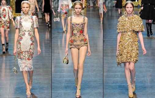 Défilé Dolce & Gabbana 2013