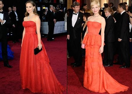 Robes Oscars 2012