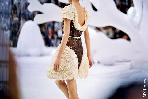 Ceinture de perle Chanel