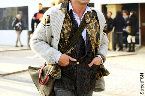 Gilet + blazer - Look masculin