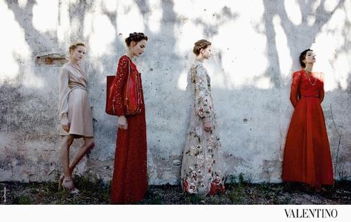 Campagne Valentino 2012