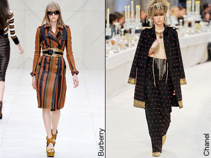 Edie Campbell - Burberry & Chanel