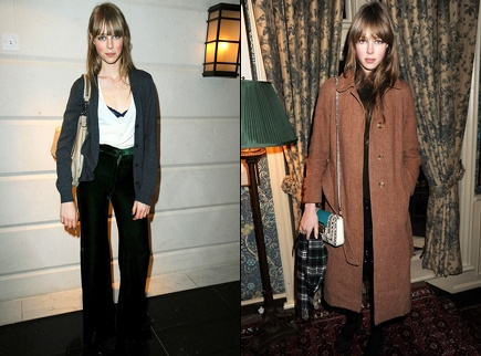 Edie Campbell streetstyle