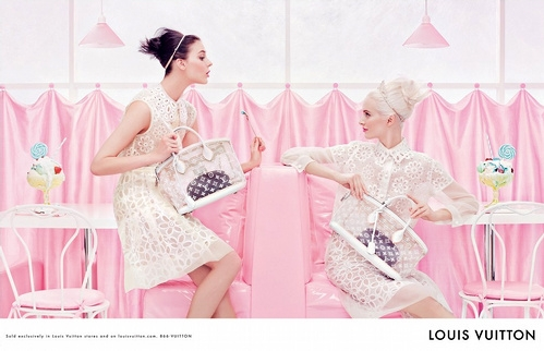 Campagne Louis Vuitton 2012