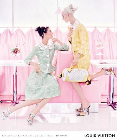 Campagne Louis Vuitton 2012