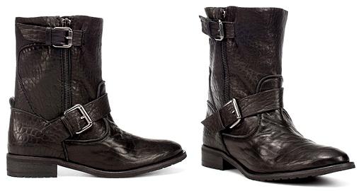 Boots de biker Zara