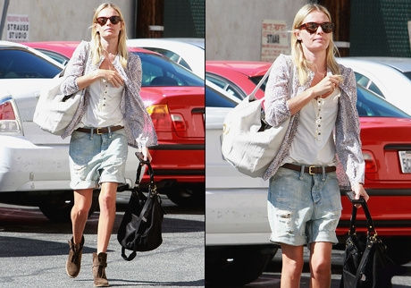 Kate Bosworth - Le bermuda boyfriend