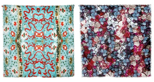 Foulards en cachemire Mary Katrantzou