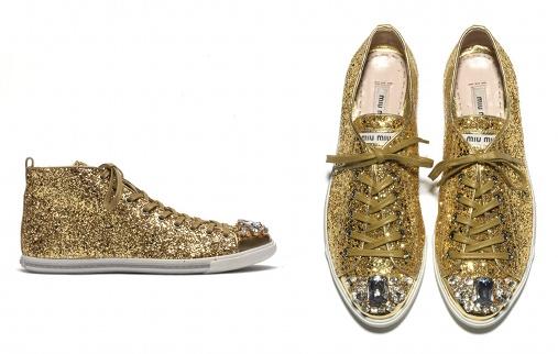 Les sneakers Miu Miu