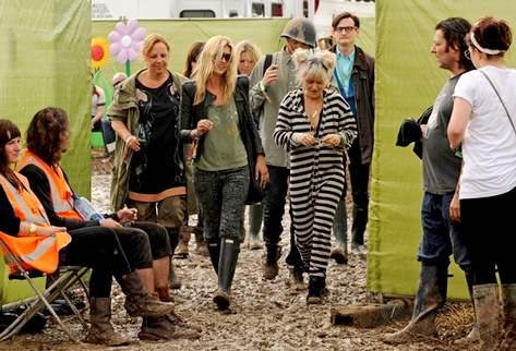 Kate Moss à Glastonbury