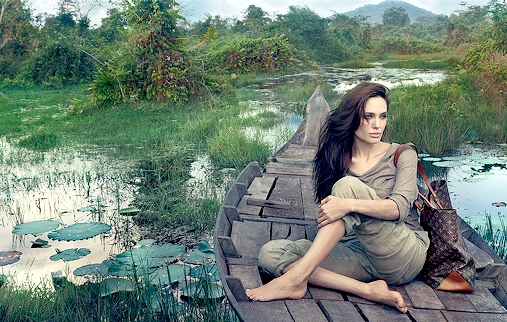 Angelina Jolie x Louis Vuitton