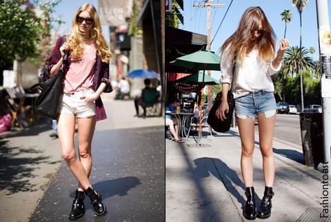 Les boots Balenciaga