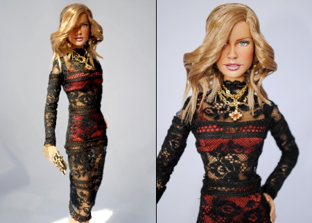 Anna Dello Russo version Barbie