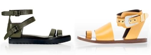 Sandales Alexander Wang & Balenciaga