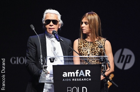 Karl Lagerfeld & Carine Roitfeld