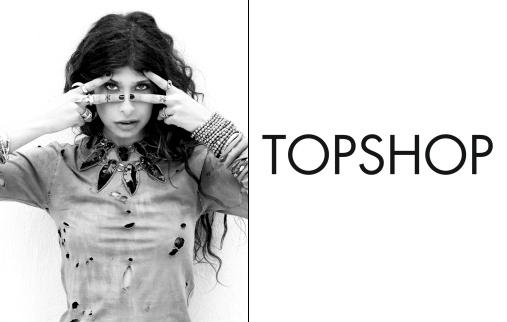 Pamela Love pour Topshop