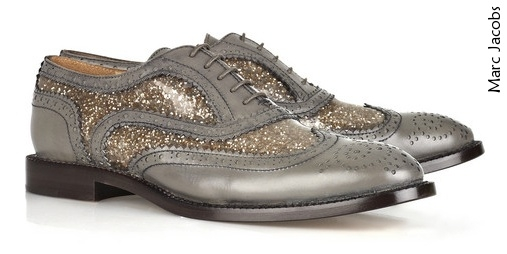 Brogues + paillettes