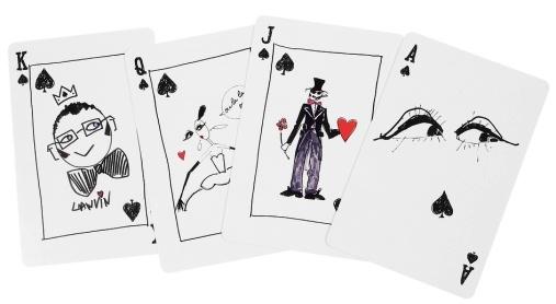 Jeu de cartes Lanvin