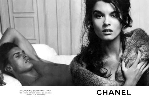 Crystal Renn x Chanel
