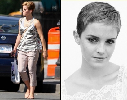 Emma Watson - Coupe courte