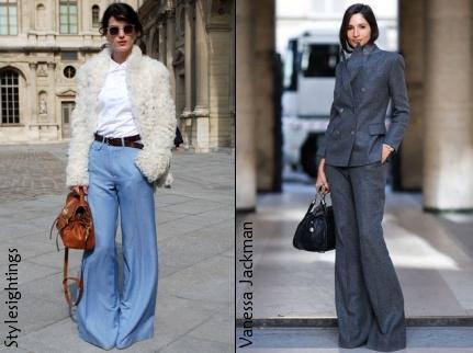 Le pantalon flare