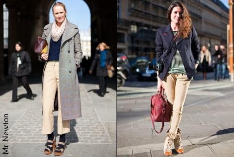Le beige mode d 39 emploi tendances de mode - Comment porter un pantalon beige ...