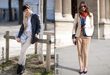 Le beige mode d 39 emploi tendances de mode - Que mettre avec un jean bleu ...