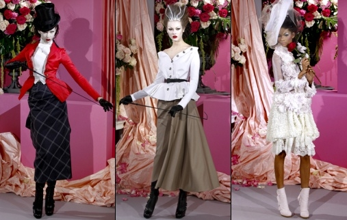 Défilé Dior Haute Couture