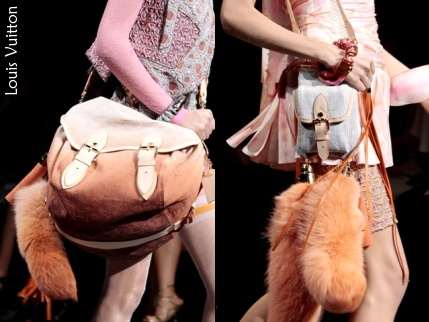 Queue de renard Louis Vuitton