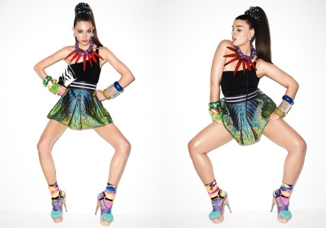 Crystal Renn pour V Magazine