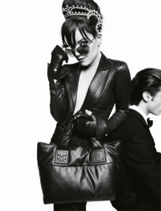 Lily Allen pour Chanel