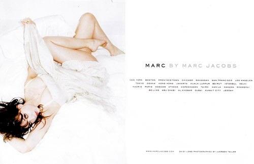 Juergen Teller pour Marc Jacobs