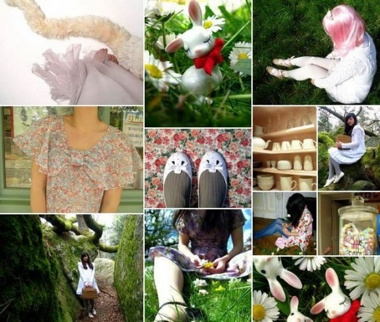 Les robes d'Alix (The cherry blossom girl)