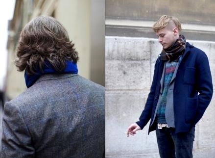 Le bleu - Mode homme